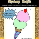 Summer Ice Cream Ordered Pairs Coordinate Graphing Activity