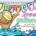 Summer Literacy Centers {11 Stations}