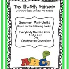 Summer Literature-based Unit:  Everybody Needs a Rock, Not