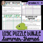 Summer Logic Puzzle Bundle