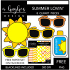 Summer Lovin' {Graphics for Commercial Use}