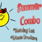 """Summer Math"" Combo Pack (Reading List + Games Brochure)"
