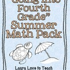 Summer Math Pack Grades 3-4