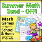 Summer Math Send Off: Common Core Math Games for School and Home