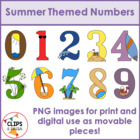 Summer Numbers for Commercial and Personal Use
