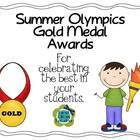 Summer Olympics Gold Medalist Student Awards