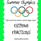 Summer Olympics - Math Activities