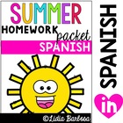 Summer Packet- Spanish