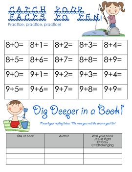 Summer Packet for Primary Students