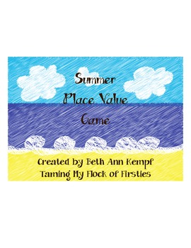 Summer Place Value Game
