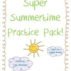Summer Practice Super Pack! [featuring the Olympics!]