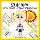 Summer Quick Common Core Literacy (5th grade)