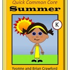Summer Quick Common Core (kindergarten)