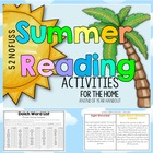 Summer Reading Activities for the Home - Sight Words + Rea