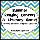 Summer Reading Centers and Literacy Games for Early Childh
