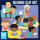 Summer Reading, Kids Clip-Art