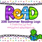 Summer Reading Logs  FREEBIE