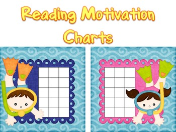Summer Reading Motivation Charts
