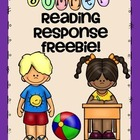 Summer Reading Response Freebie! Grade K & 1
