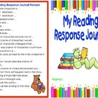 Reading Response Journal Packet