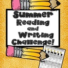 Summer Reading Writing Challenge!