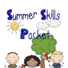 Summer Skills Packet for Kindergarteners Going into First Grade