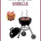 Summer Spelling Puzzles - Barbecue