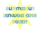 Summer Themed Langague Arts Packet