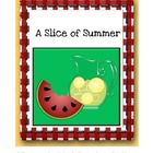 Summer Themed Multiplication File Folder Game