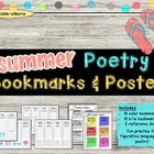 Summer Themed Poetry Bookmarks - FREE