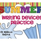 Summer Themed Writing Devices Activities