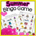 Summer Time Bingo Game