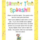 Summer Time Splash!!