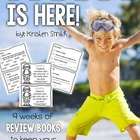 Summer is Here- 9 weeks of review books to keep your stude