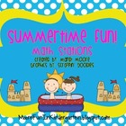Summertime Math Activities