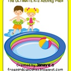 Summertime ULTIMATE Activity Pack {K-2}
