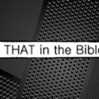 Sunday School Lesson Series - Is That In the Bible? (6 Lessons)