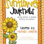 Sunflower Journals Writing Prompts to Promote Positivity &amp;