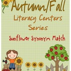 Sunflower Synonyms - Fall Autumn themed