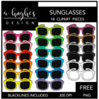 Sunglasses FREEBIE {Graphics for Commercial Use}