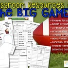 Classroom Resources for the Big Football Game