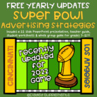 2014 Super Bowl Football Advertising Strategies & Techniqu
