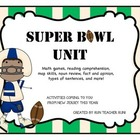 Super Bowl Super Pack-math games, reading activities, and more!