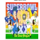 Super Bowl XXXI-XXXV Math and Literacy Packet