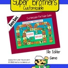 Super Brothers File Folder Game
