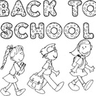 Super Cute HUGE back to school poster that kids can color!!!! 