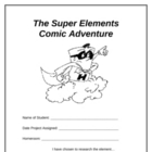 Super Elements Project Booklet