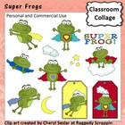 Super Frogs - Color - personal & commercial use C Seslar
