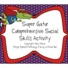 Super Gator Social Skills Activity Pack