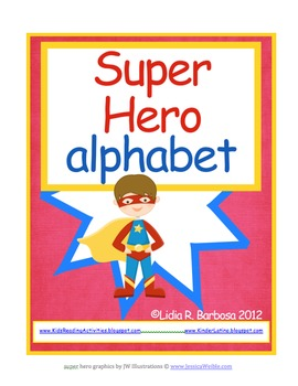 Super Hero Alphabet